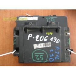 БСМ + Компютър за Peugeot 206-1.9d (98-06)