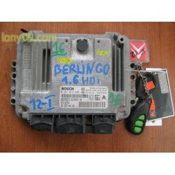 Компютър за Citroen Berlingo 1.6hdi (97-02)