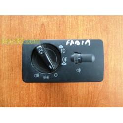 Копчета фарове за Skoda Fabia (99-07)